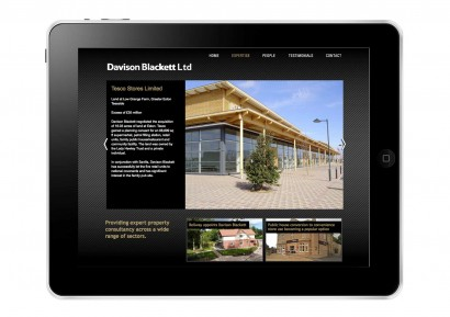 Davidson Blackett website