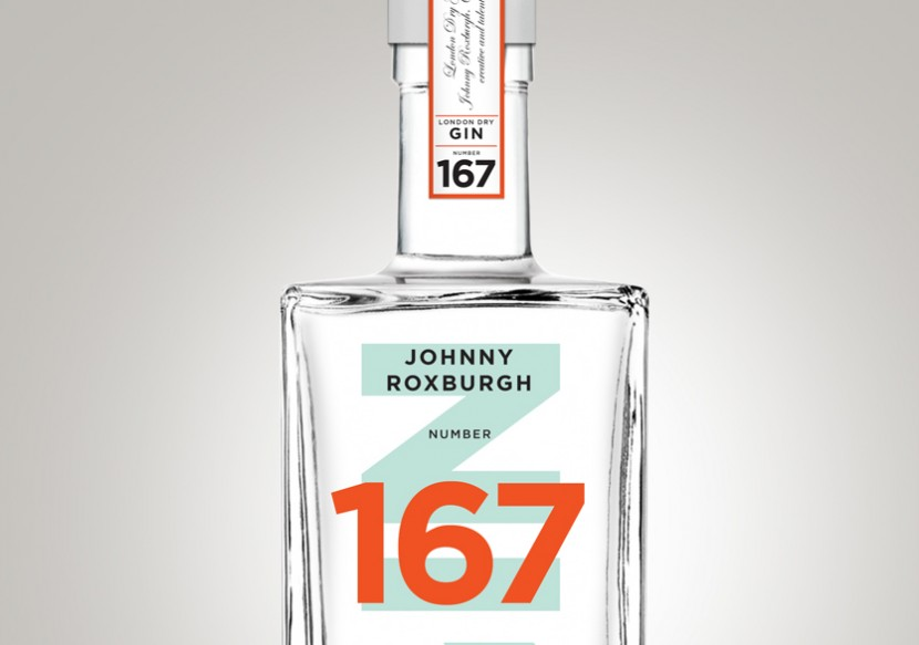 Close up of Johnny Roxburgh 167 London Dry Gin