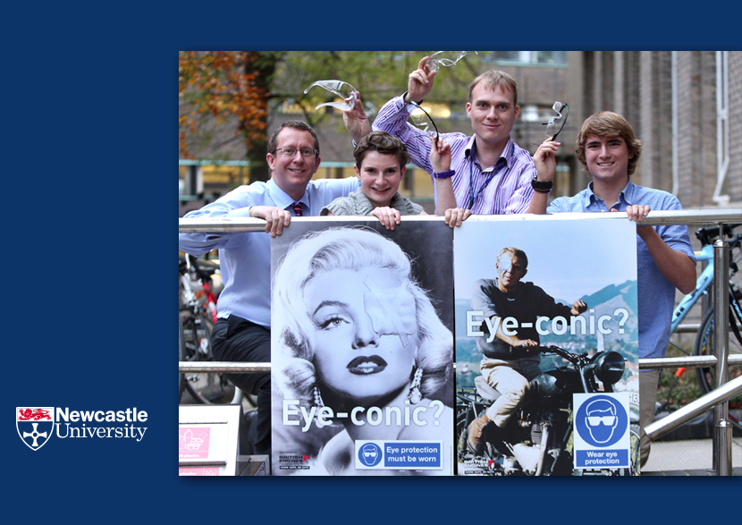 Newcastle University_eye_protection_campaign2